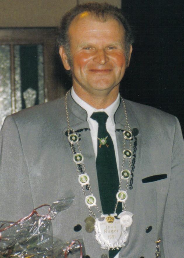 Schützenkönig: 1993: Werner Beyer
