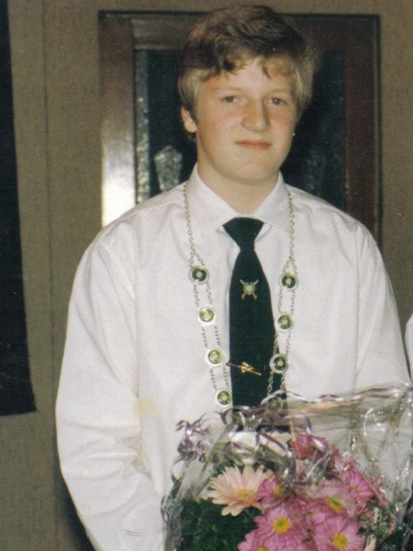 Jungschützenkönig 1993: Christian Scheler
