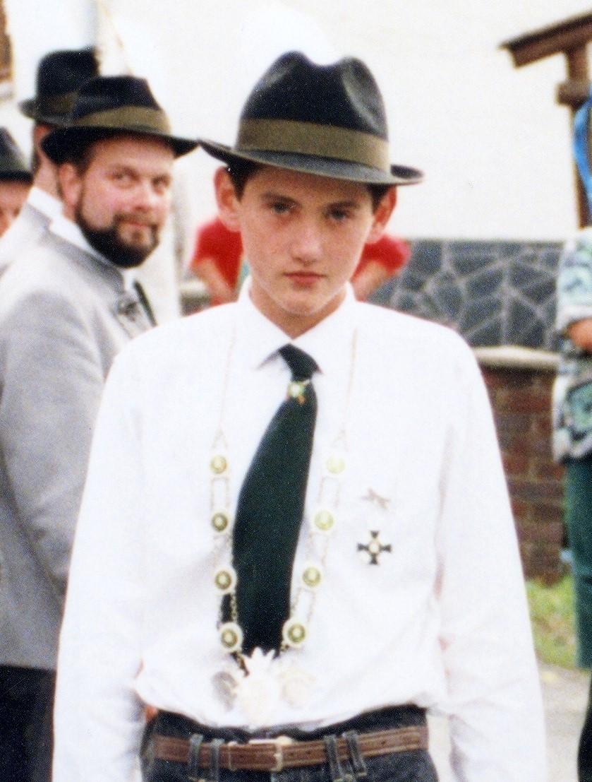 Jungschützenkönig 1994: Stefan Rauscher