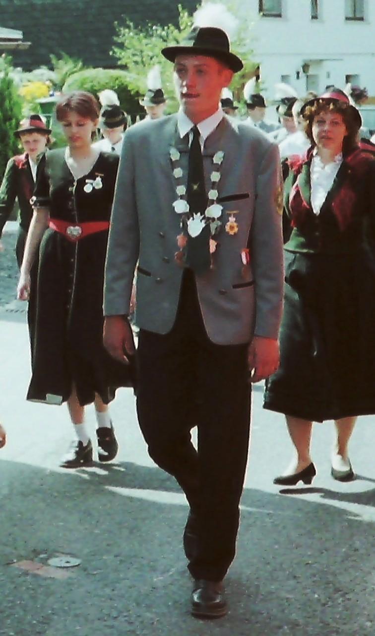 Jungschützenkönig 2000: Alexander Dorst