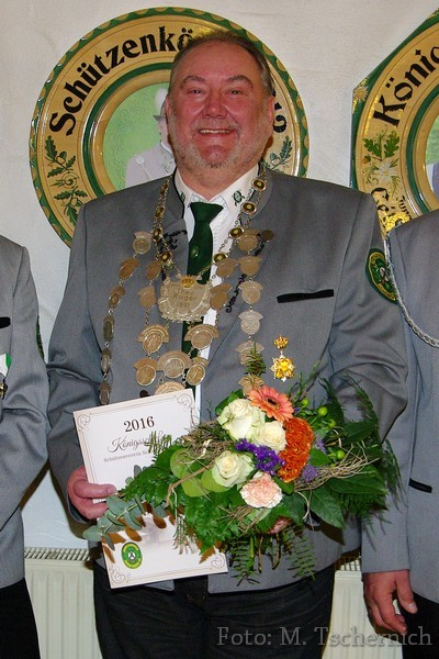 Schützenkönig 2016: Gerold Köhler