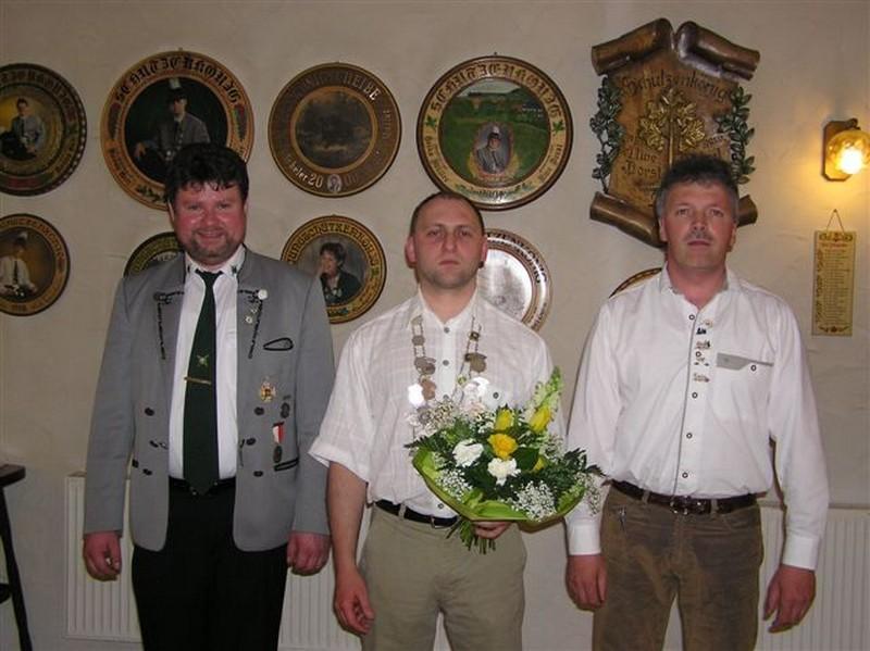 Schützenkönig 2006: Frank Beyer