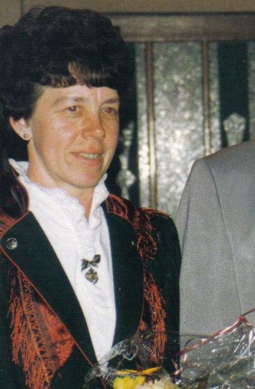 Schützenkönigin 1994: Gerlinde Beyer