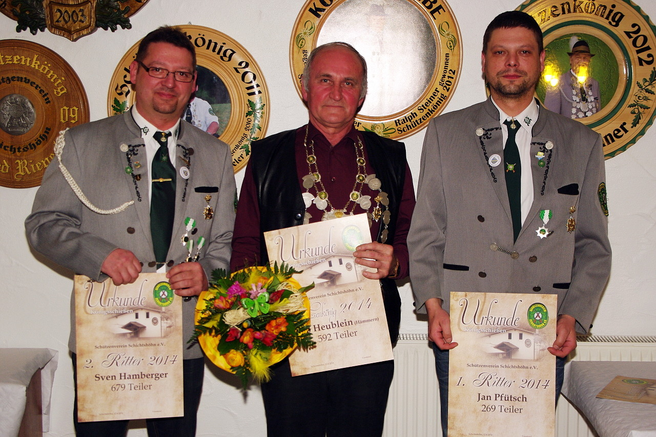 Schützenkönig 2014: Udo Heublein II