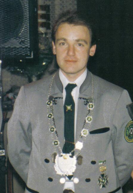 Schützenkönig 1992: Mario Noack