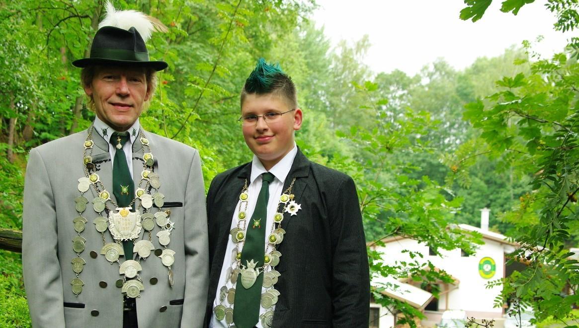 Schötzenkönige 2011: Matthias Scheler und Thommy Wöhner