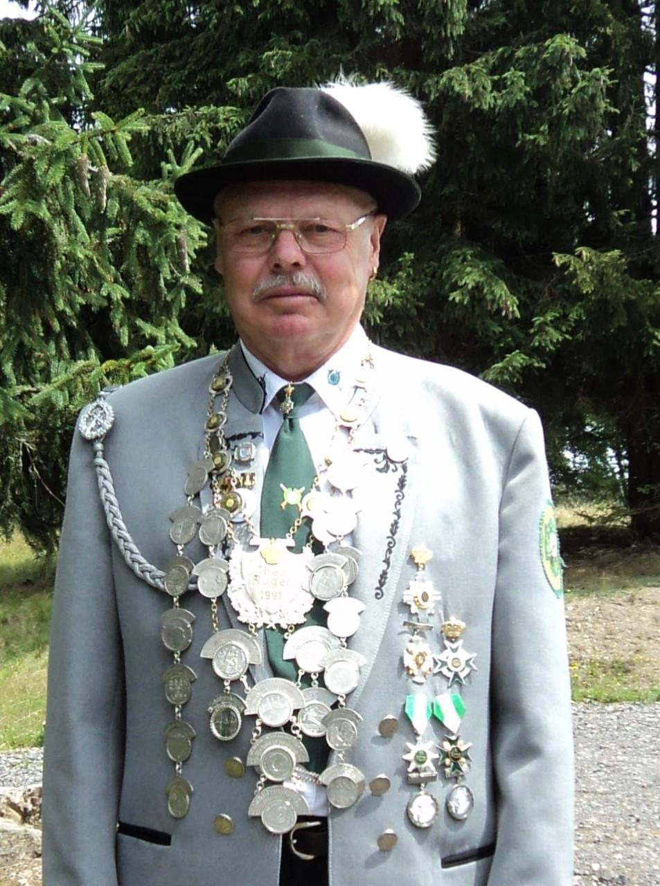 Schützenkönig 2015: Wilfried Rienecker (3.0)
