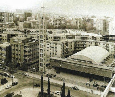 Barri del Congrés. Foto de l'arxiu diocesà de Barcelona