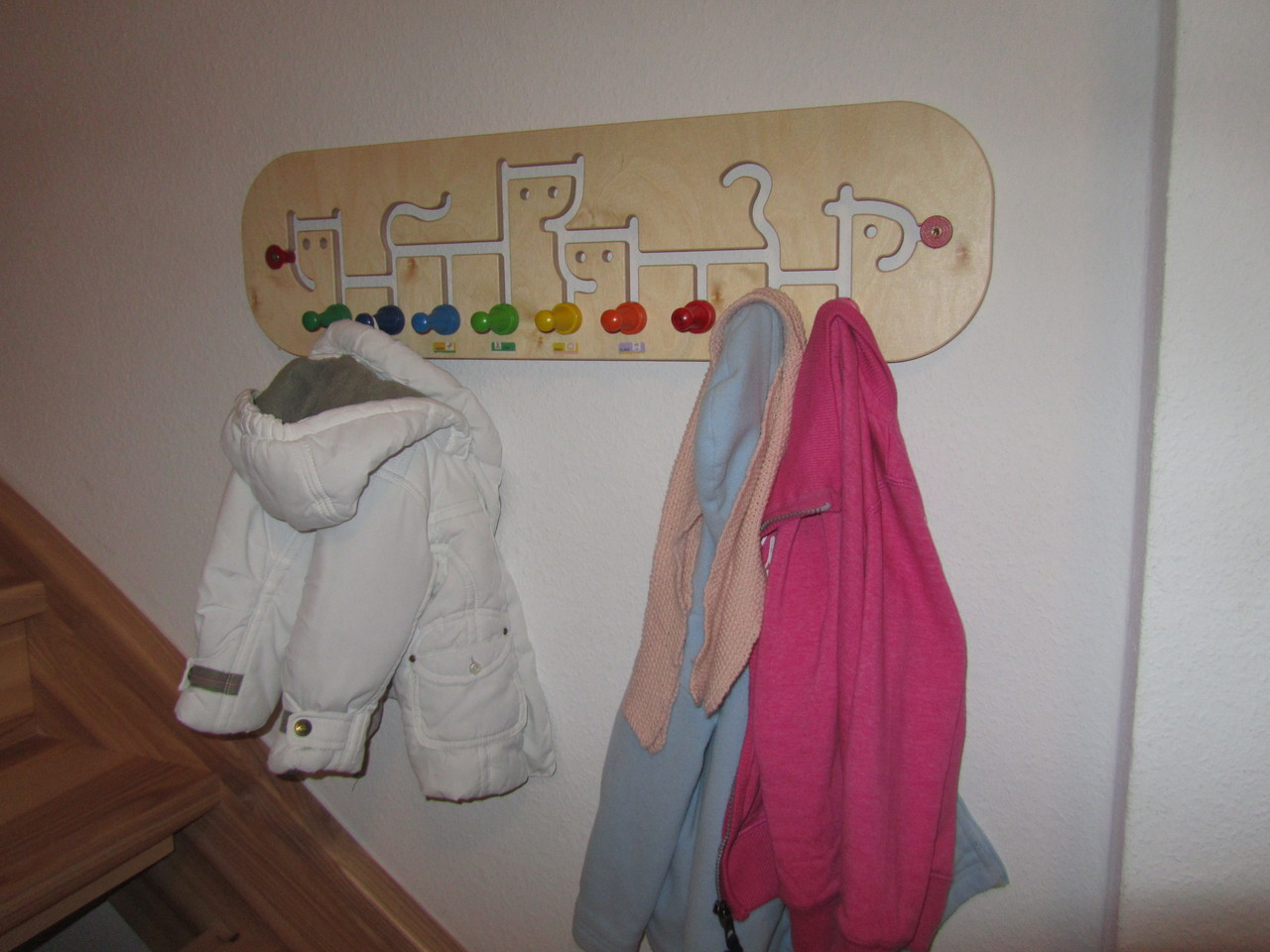 unsere Garderobe