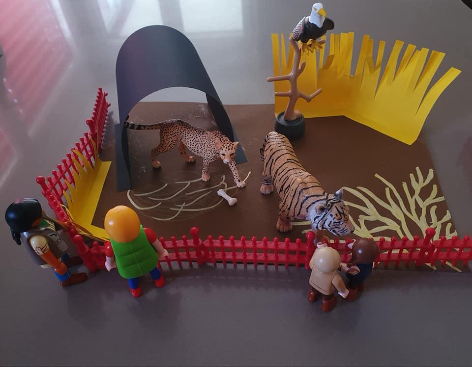 Am liebsten mochten die Kinder den Tiger. Sie konnten es jedes Mal kaum erwarten, den Tiger zu sehen.