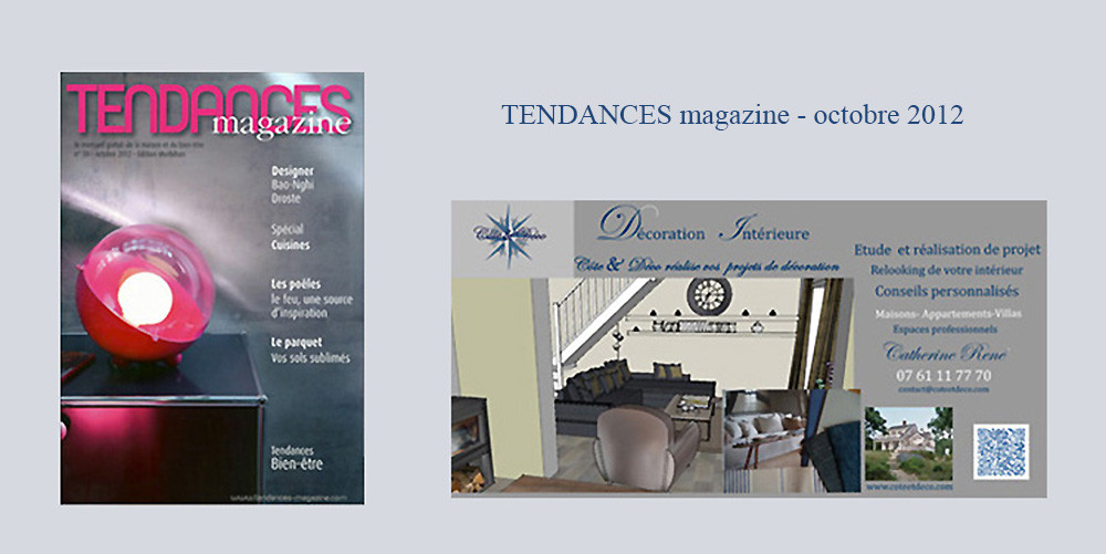 Côte & Déco - Catherine René - Décoratrice d'Intérieur Lorient, Auray, Vannes