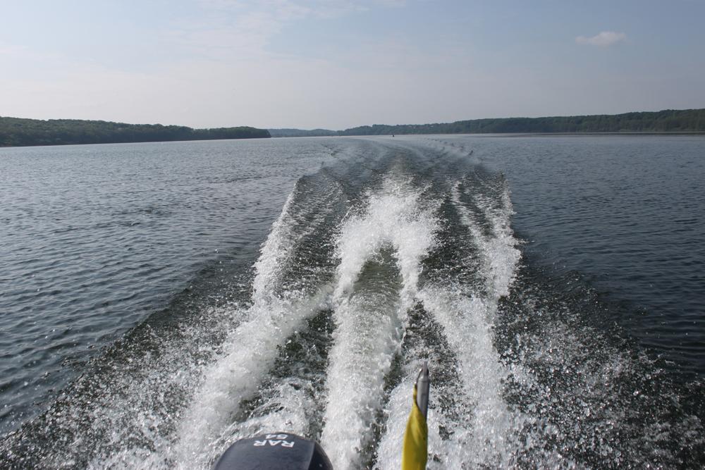 Mit Vollgas zum nächsten Boot