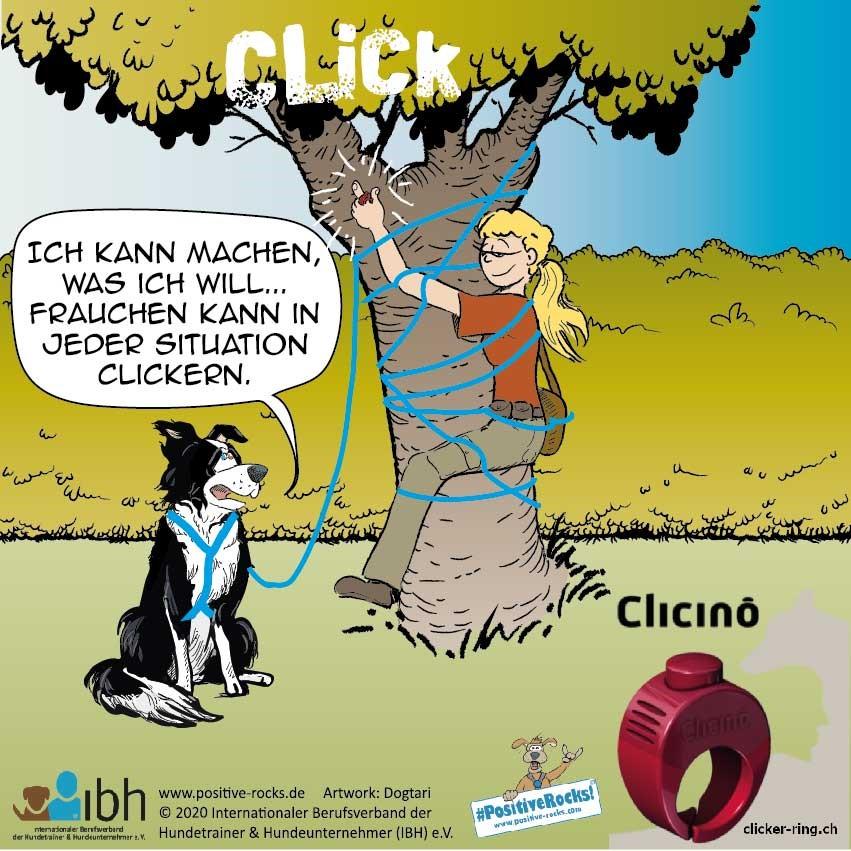 Clicino & Clicker Tante Uschi von Positive Rocks!