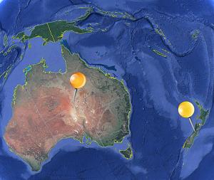 Clicino Australien & Neuseeland