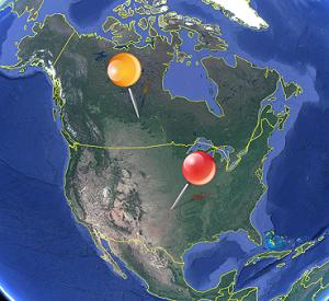 Clicker Nordamerika