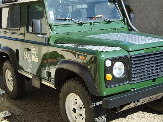 Land Rover 90 Td (serie LRP)