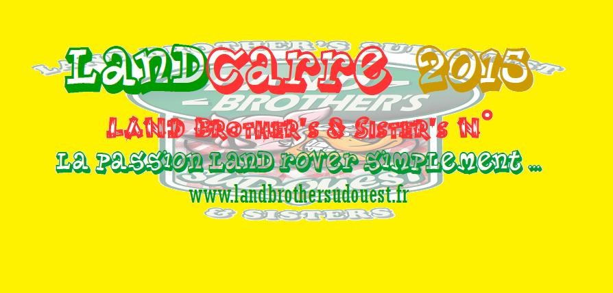 Le sticker officiel de LANDCARRE 2015