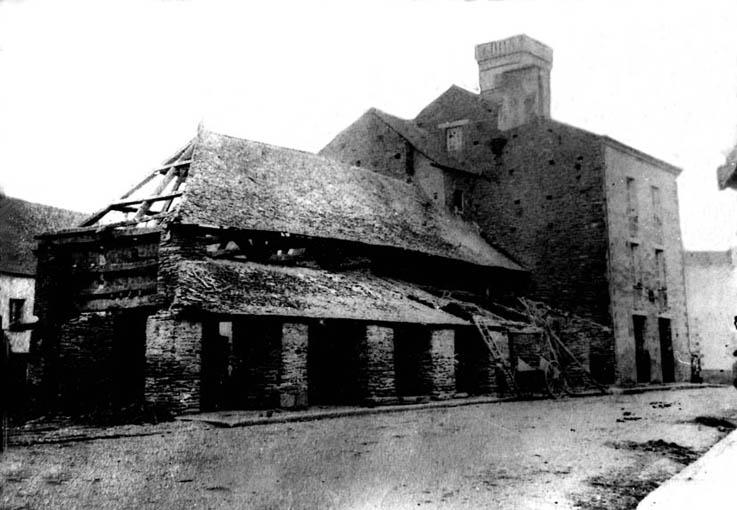 Les halles de La Bourdonnaye 1737
