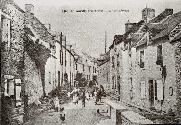 Rue La Fayette, haut, vers 1920