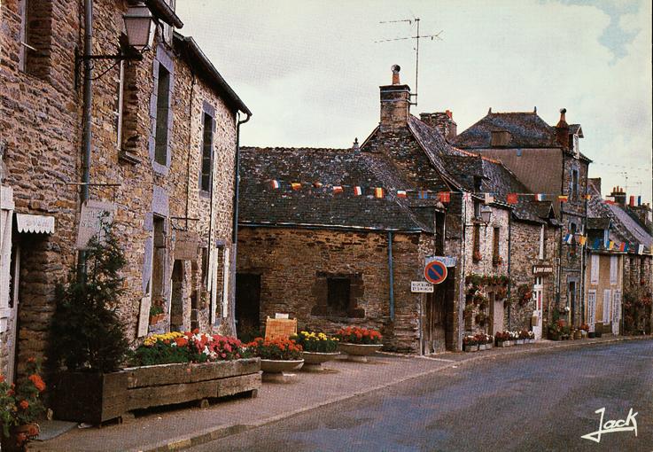 Rue Saint-Vincent, vers 1975, haut