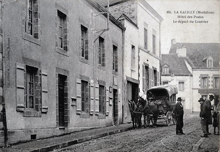 Rue Neuve et la poste