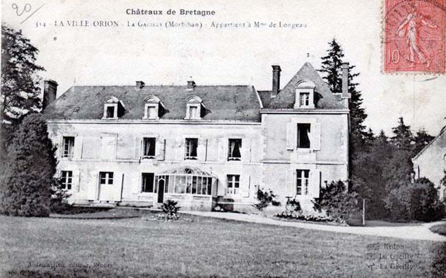 château de la Ville Orion acheté en 1855 par la famille de Longeaux-Marien