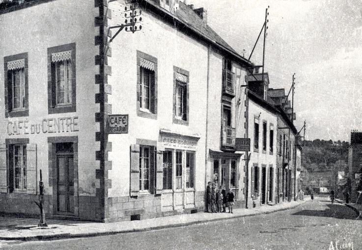 Début rue Neuve, au coin le futur café Panorama