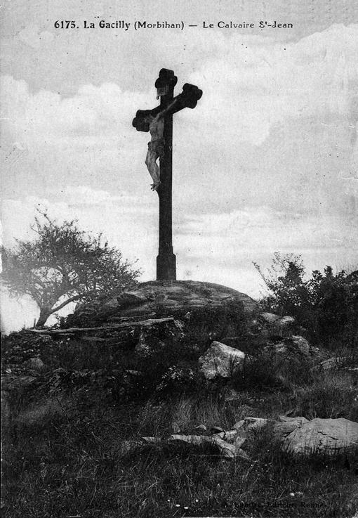 La croix de la butte Saint-Jean