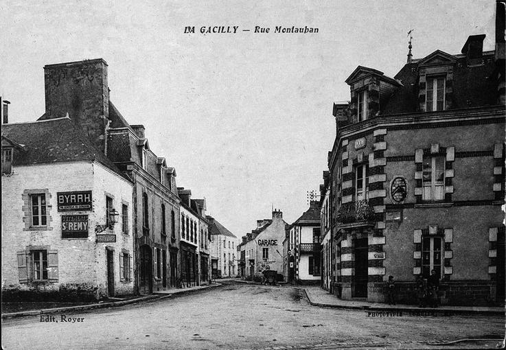 Entrée rue Montauban 1930