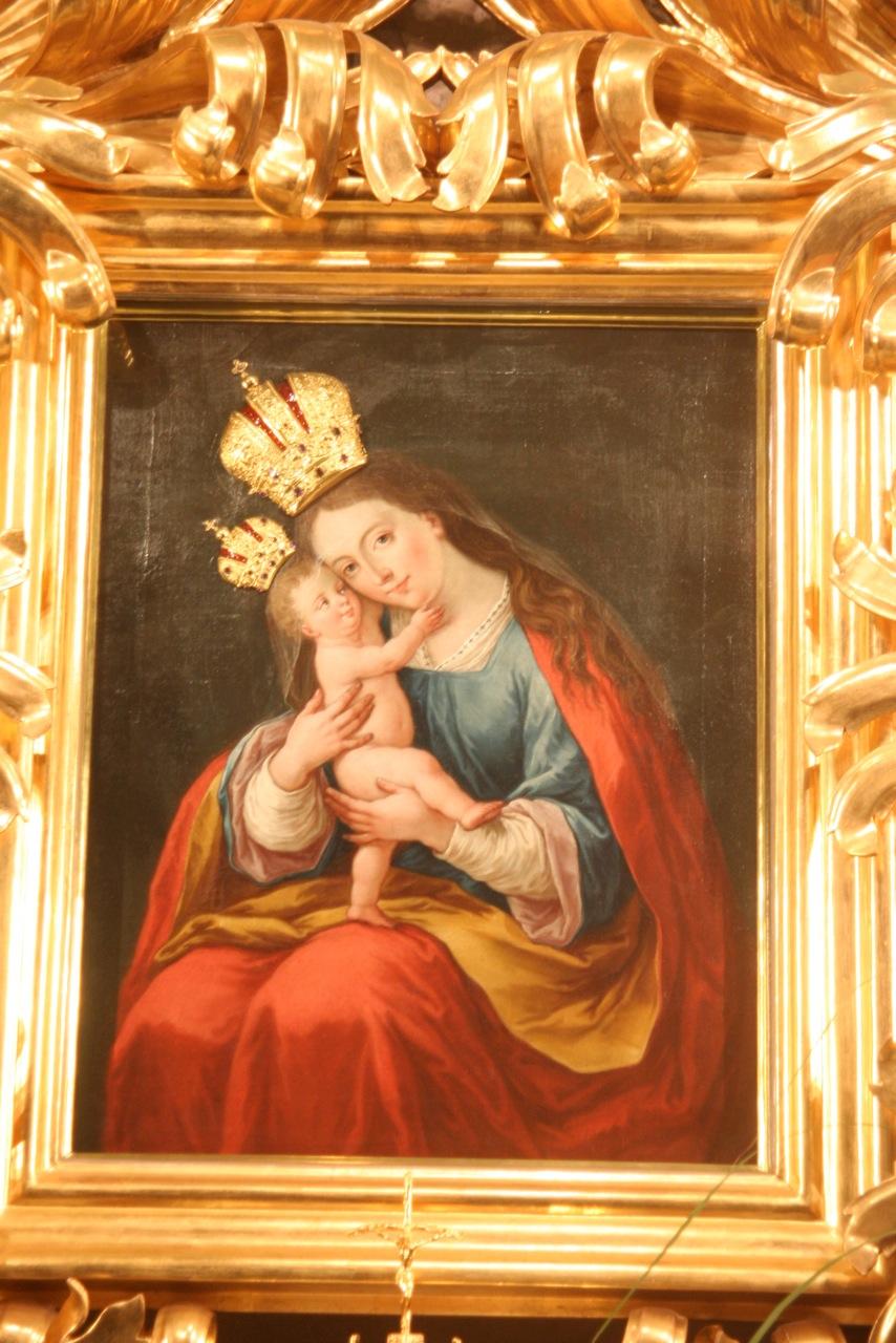 Marie-auxiliatrice du sanctuaire marial de Brezje