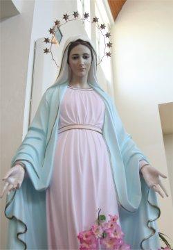 Maman Marie de l'église du village de Tihaljina