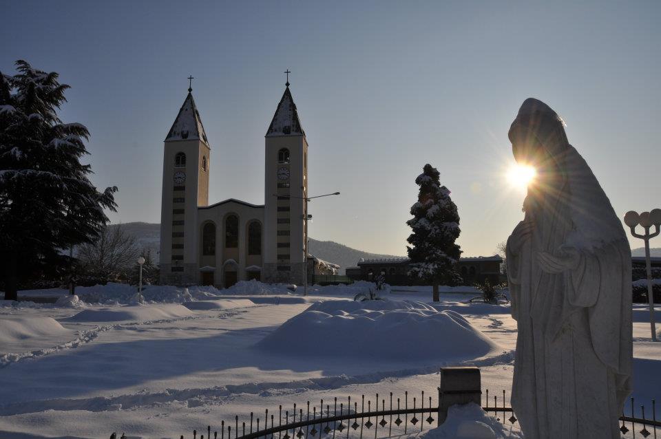 Un hiver rude à Medjugorje