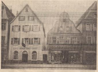 Café Ebert, 1909. Foto: Stadtarchiv Speyer
