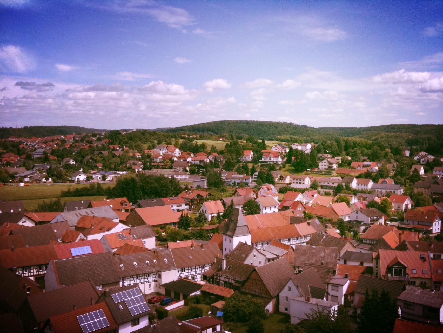 Blick auf Hammersbach