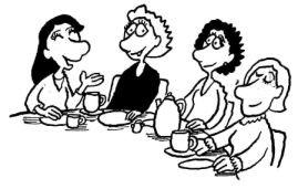 Frühstück für Frauen, Frauenfrühstück, Evangelische Gemeinschaft Hammersbach