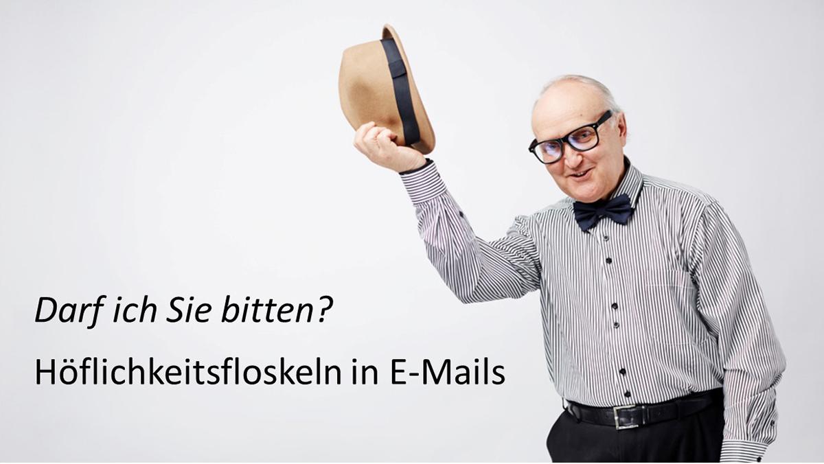 Verzichten Sie auf Höflichkeitsfloskeln in Ihren E-Mails