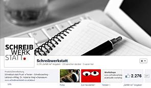 facebook, unternehmensseite, profil, weigl, schreibwerkstatt, wien