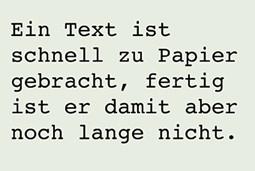text, korrektur, schreiben