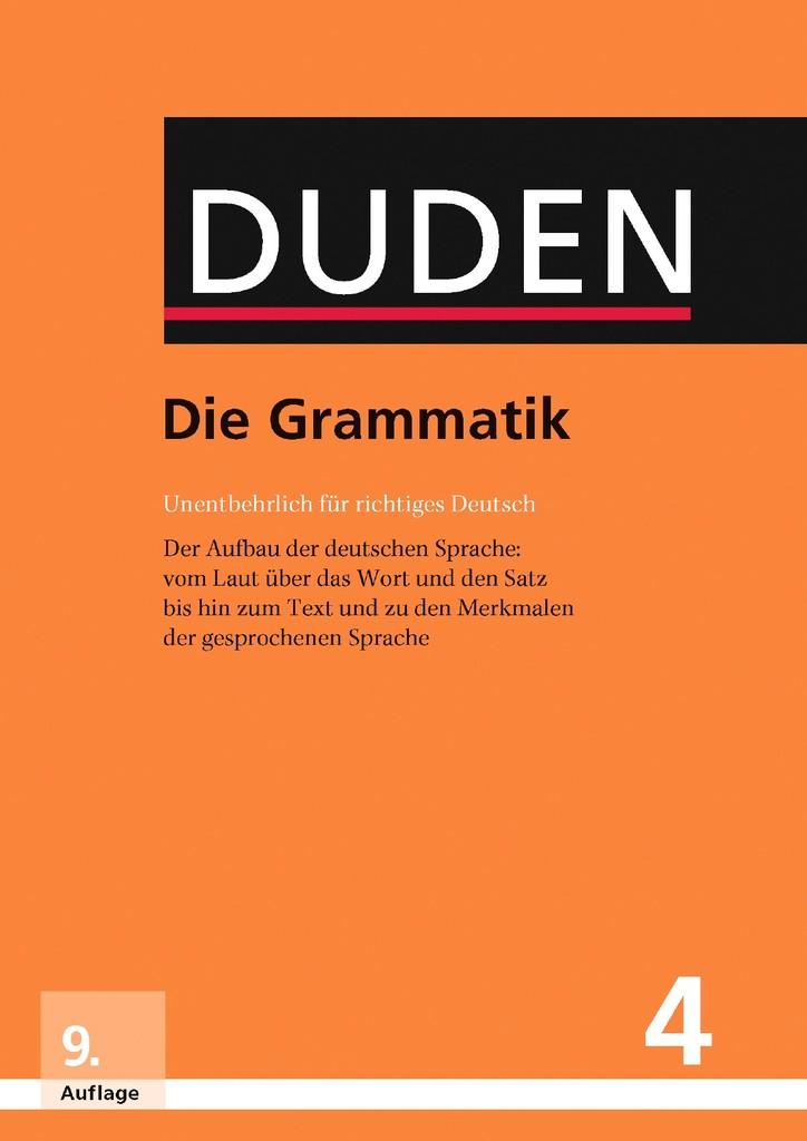 Neu Als Pdf Duden 4 Die Grammatik Schreibwerkstatt