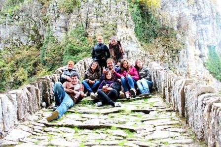 Excursion to villages of Zagori - one an old stone bridge