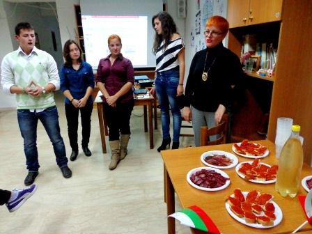 Presentation of Bulgaria and Bulgarian traditional products