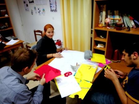 "Creation of posters for exhibition ""Human Rights Street"""