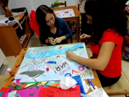 """Creation of posters for exhibition """"Human Rights Street"""""""