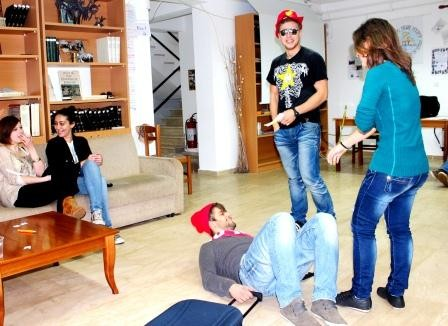 Trater play about discrimination and violation of human rights