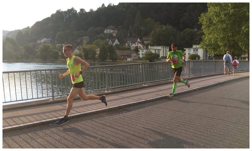 AKB Run Aarau, 2.Etappe 22.08.18: Regenerative Woche, deshalb locker. Das Leadertrikot war dann natürlich auch gleich weg aber das störte mich nicht, denn es kamen noch genügend Chancen. (Foto: AKB Run)