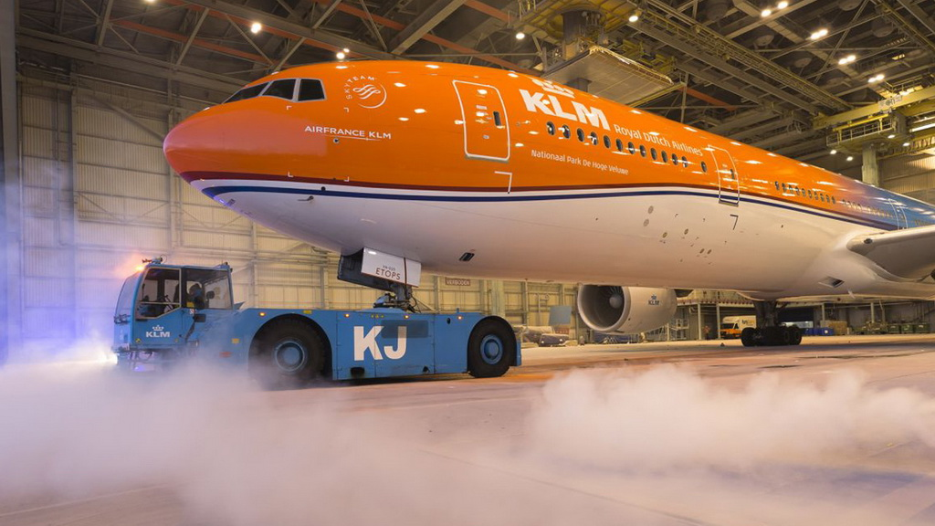 KLM, Retro Colours, Boeing 777
