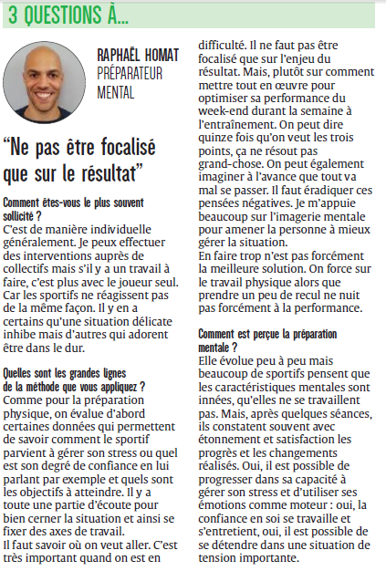 Interview L'Union