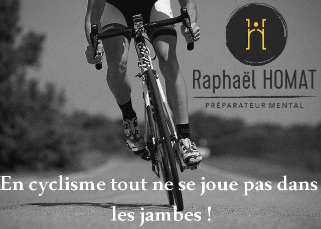 cyclisme, endurance, puissance, VMA, tour de france, raphael homat, préparation mentale, discours interne