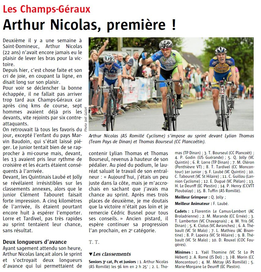 Victoire, Arthur Nicolas,