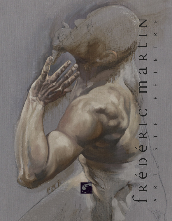 Frédéric Martin, artiste peintre, dessin anatomie, homme, peinture contemporaine